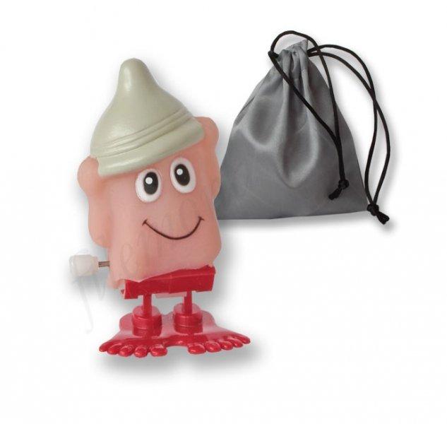 Skaczšcy penis Condom Hat w sakiewce